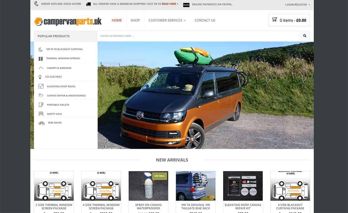 Campervan Parts UK