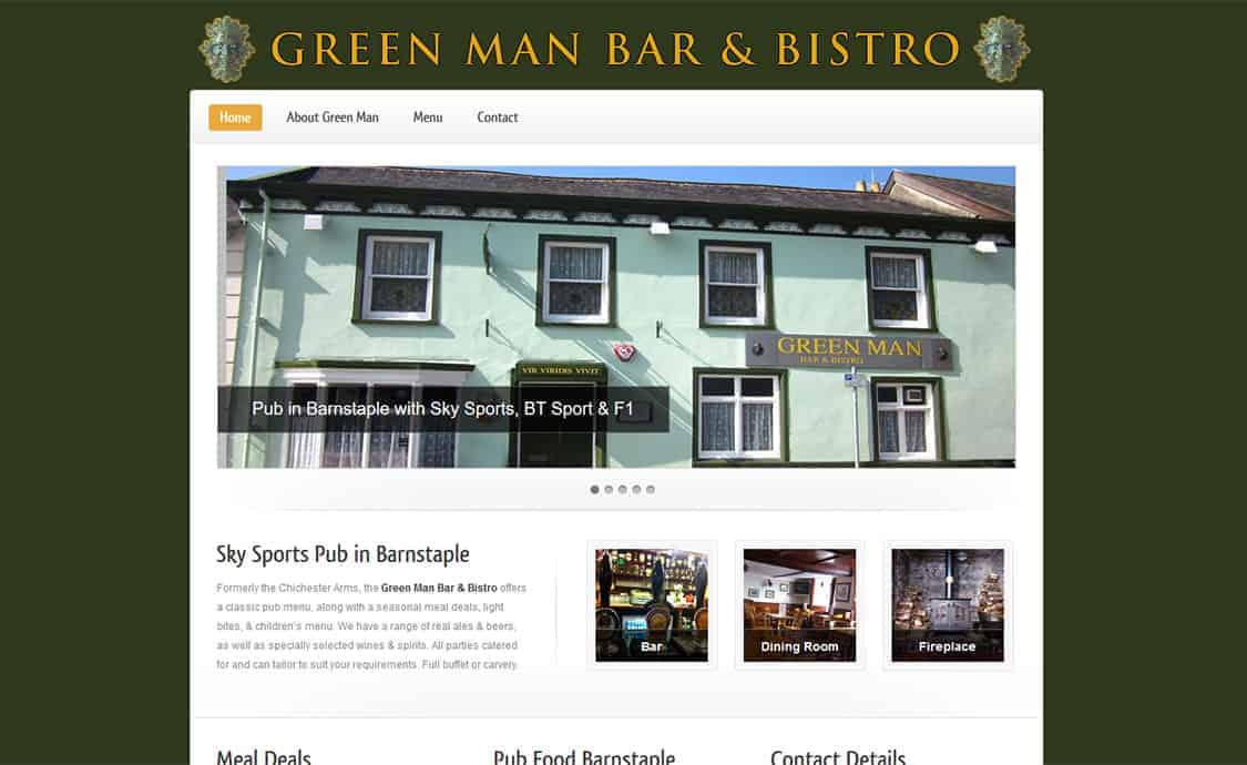 Green Man Bar & Bistro