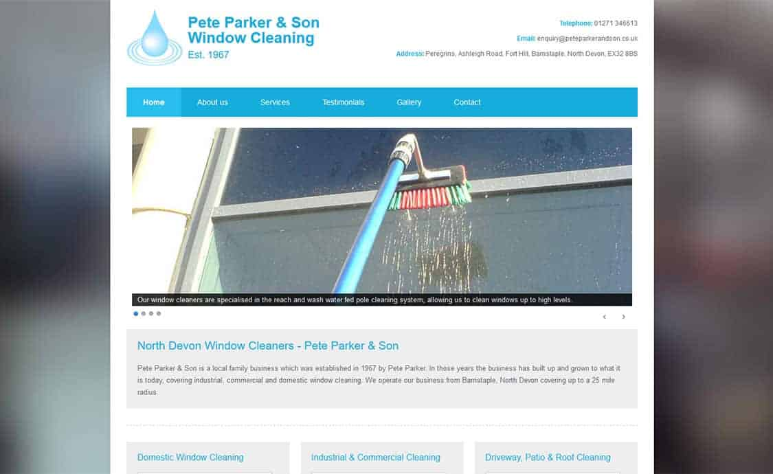 Pete Parker & Son Window Cleaning