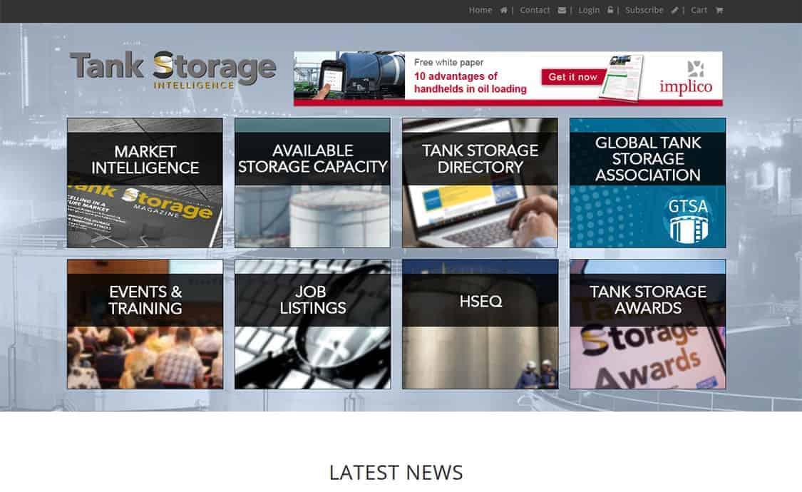 Tank Storage Intelligence