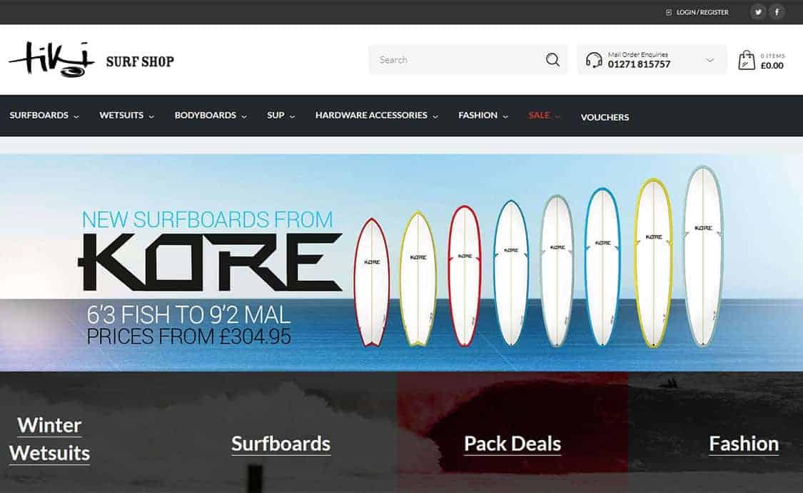 Tiki Surf Shop