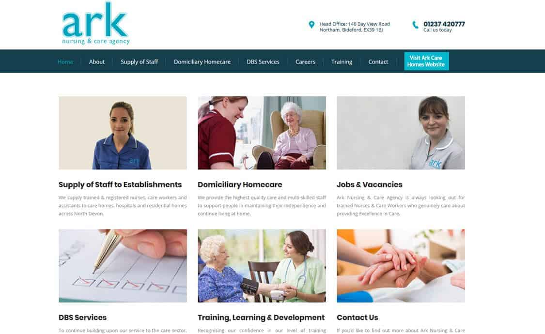 Ark Care Homes & Nursing Agency