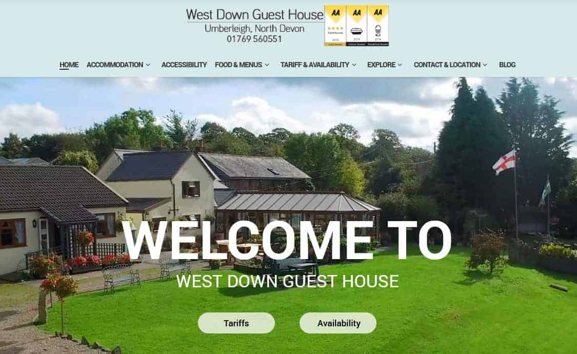 West Down Guesthouse